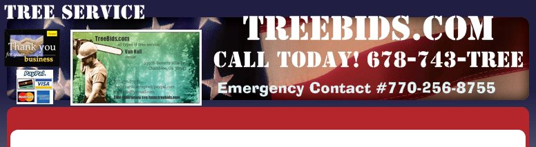 TreeBids.com  - Call Today! 678-743-TREE